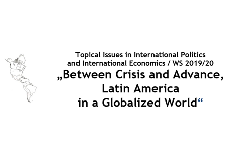 "Zum Artikel ""Vortrag 11.12.19: ""Crisis of Latin American Regionalism and Beyond"""""