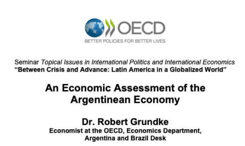 "Zum Artikel ""Vortrag 15.01.20: ""An Economic Assessment of the Argentinean Economy"""""